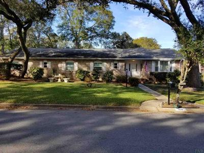 Pensacola Single Family Home For Sale: 5930 Admiral Doyle Rd