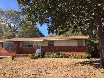 Milton Single Family Home For Sale: 5741 Pecan St