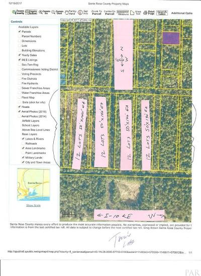 Pace Residential Lots & Land For Sale: San Pablo