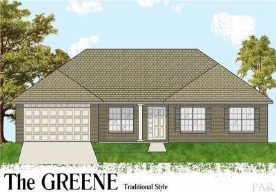Milton Single Family Home For Sale: 4733 Henry Wilson Creek Dri