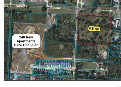 Pensacola Residential Lots & Land For Sale: W 1371 9 Mile Rd