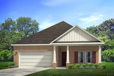 Pensacola Single Family Home For Sale: 7933 Huntington Creek Ln