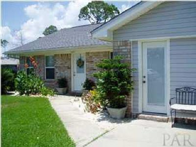 Gulf Breeze Single Family Home For Sale: 2834 Lido Blvd