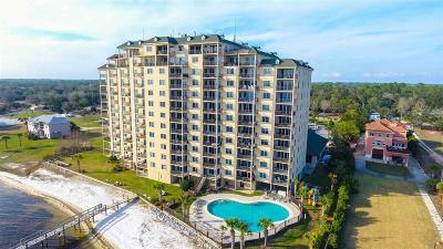 Pensacola Condo/Townhouse For Sale: 10335 Gulf Beach Hwy #901