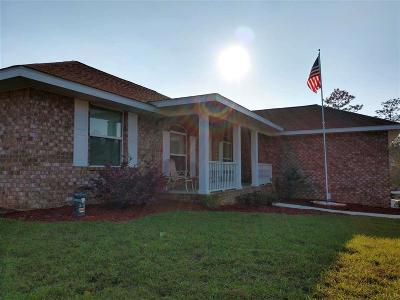 Cantonment Single Family Home For Sale: 1627 Twin Pines Cir