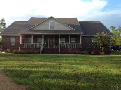 Jay Single Family Home For Sale: 4818 Hwy 182