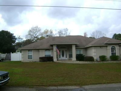 Cantonment Single Family Home For Sale: 1841 Shady Creek Dr