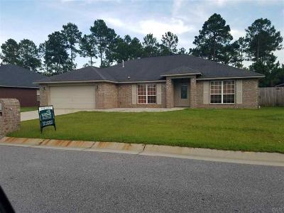 Pensacola Single Family Home For Sale: 11550 Aruba Dr