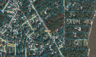 Pensacola Residential Lots & Land For Sale: 9830 Scenic Hwy