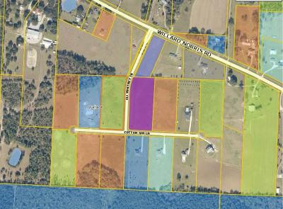 Pace Residential Lots & Land For Sale: Lot 1 Cotton Gin Ln