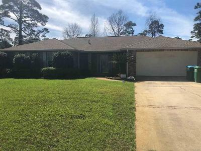 Gulf Breeze Single Family Home For Sale: 3865 Paradise Bay Dr