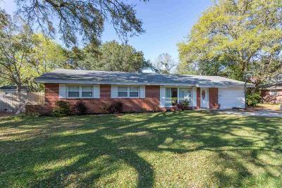 Gulf Breeze Single Family Home For Sale: 418 Warwick St