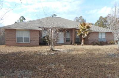 Milton Single Family Home For Sale: 5123 Gardenbrook Blvd