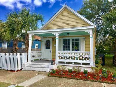 Pensacola Single Family Home For Sale: S 208 Devilliers St