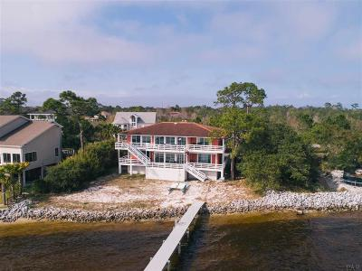 Gulf Breeze Single Family Home For Sale: 1303 Soundview Trl