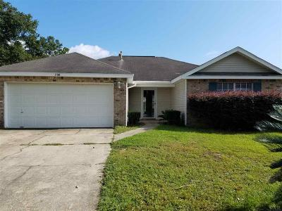 Pensacola Rental For Rent: 708 Thornwood Pl