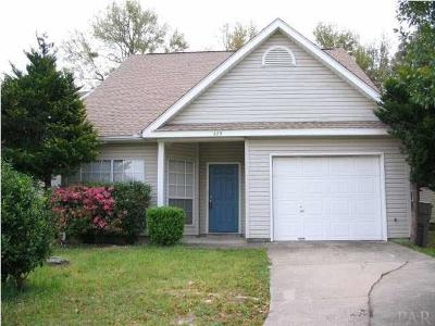 Pensacola FL Single Family Home For Sale: $184,900