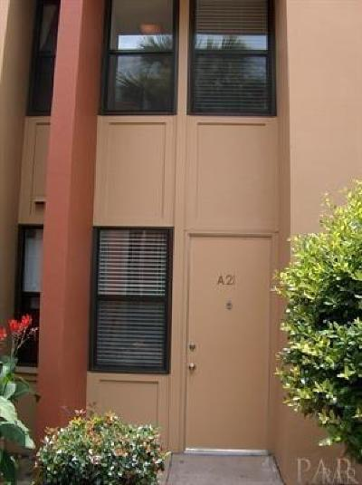 Gulf Breeze Condo/Townhouse For Sale: 201 Pensacola Beach Rd #A21