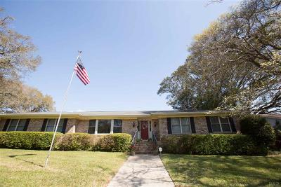 Pensacola FL Single Family Home For Sale: $215,000