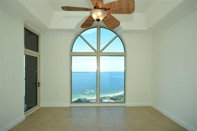 Pensacola Beach Condo/Townhouse For Sale: 1 Portofino Dr #PH2104