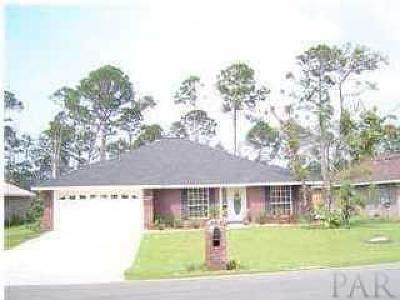 Gulf Breeze Single Family Home For Sale: 1469 Nantahala Beach Rd