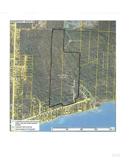 Escambia County, Santa Rosa County Residential Lots & Land For Sale: Soundside Dr #2 Parcel