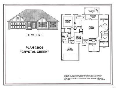 Pensacola Single Family Home For Sale: 5040 Wheeler Way