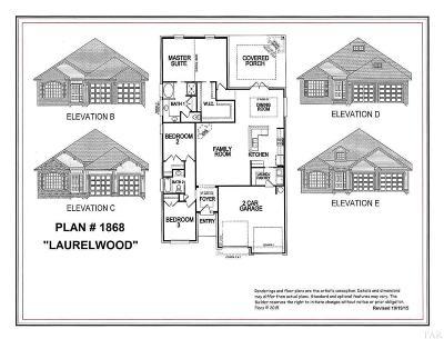 Pensacola Single Family Home For Sale: 5097 Wheeler Way