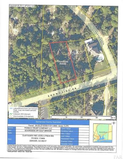 Gulf Breeze Residential Lots & Land For Sale: Soundside Dr #Lot 11