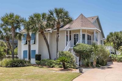 Pensacola Beach Single Family Home For Sale: 5 Sugar Bowl Ln