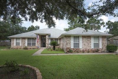 Milton Single Family Home For Sale: 5321 Richardson Rd