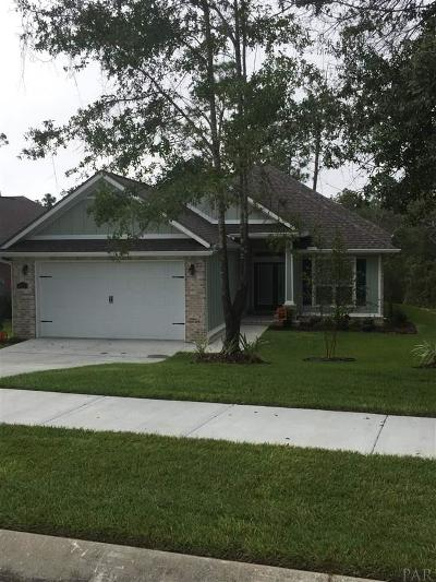 Pensacola Single Family Home For Sale: 8503 Salt Grass Dr