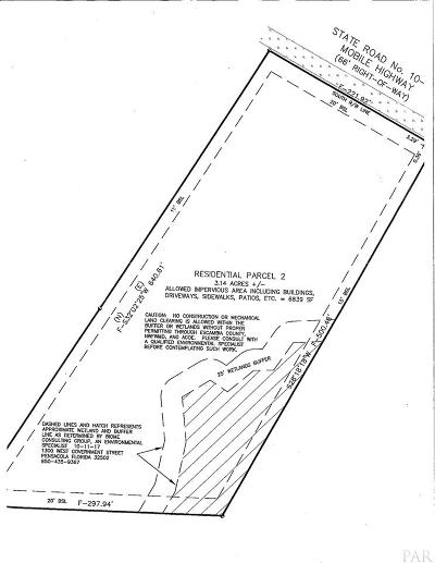 Pensacola Residential Lots & Land For Sale: 7765 Mobile Hwy