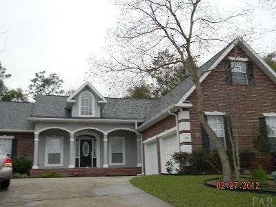 Pensacola Rental For Rent: 1441 Chalet Pl
