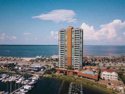 Pensacola Beach Condo/Townhouse For Sale: 721 Pensacola Beach Blvd #502