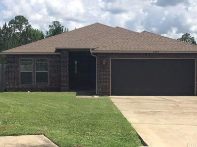 Cantonment Single Family Home For Sale: 2707 Blackwood Dr