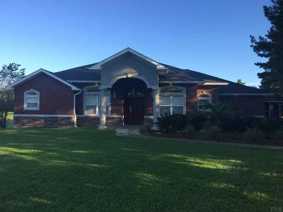Cantonment Single Family Home For Sale: 540 Ashley Rd
