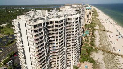 Pensacola, Pensacola Beach, Perdido, Perdido Key, Bagdad, Gulf Breeze, Milton, Navarre, Navarre Beach, Pace Condo/Townhouse For Sale: 13661 Perdido Key Dr #1901