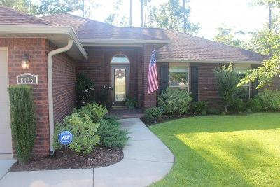 Pace Single Family Home For Sale: 6145 Autumn Pines Cir