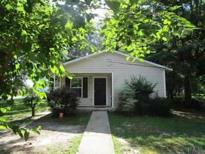 Pensacola FL Single Family Home For Sale: $79,900