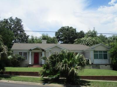 Pensacola Single Family Home For Sale: 2300 Mallory St