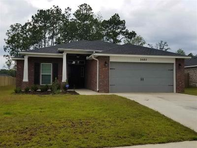 Pace Single Family Home For Sale: 5660 Cane Syrup Cir