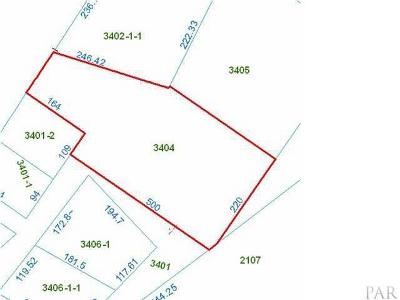 Pensacola Residential Lots & Land For Sale: N 1300 Blue Angel Pkwy