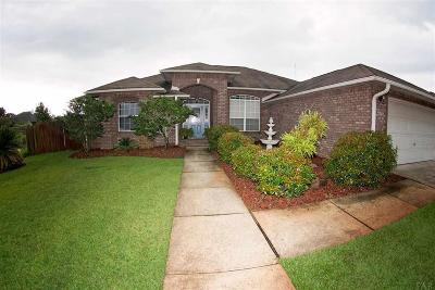 Gulf Breeze Single Family Home For Sale: 1940 Melissa Oaks Dr