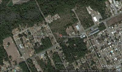 Pensacola Residential Lots & Land For Sale: 8700 Gulf Beach Hwy
