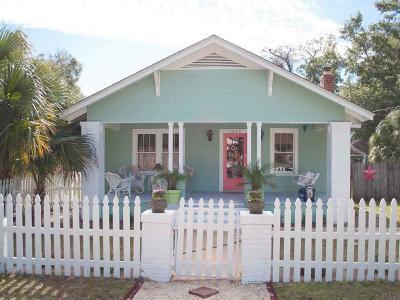 Pensacola Single Family Home For Sale: E 1225 Scott St