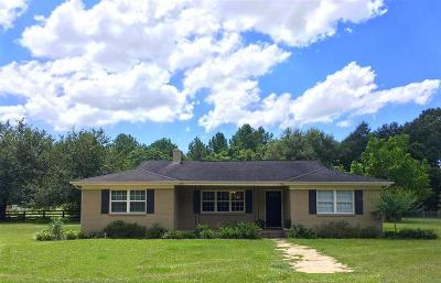 Pace Single Family Home For Sale: 3801 Luther Fowler Rd