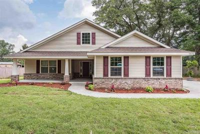 Pensacola Single Family Home For Sale: 6264 Saufley Pines Rd
