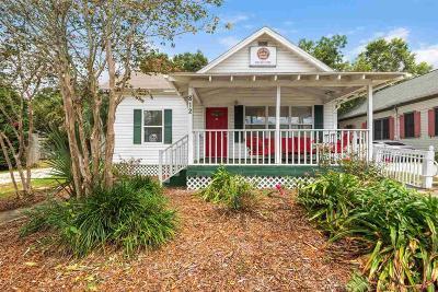Pensacola Single Family Home For Sale: E 812 Desoto St