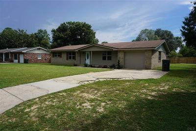 Milton Single Family Home For Sale: 6345 Starhill Dr